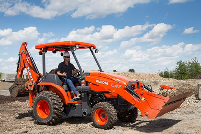 Where to find TRACTOR KUBOTA 47HP FL BH DELIVERY ONLY in Tulsa