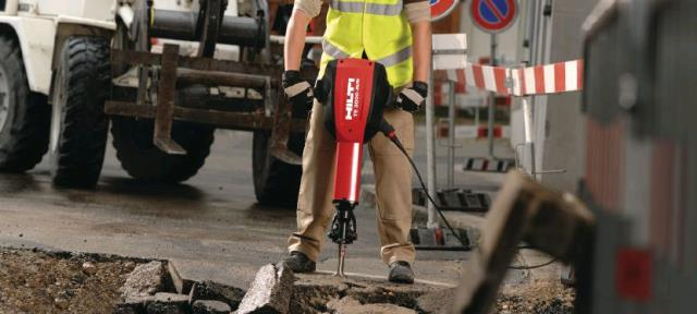 Where to find HAMMER, HILTI JACK  ELECT.-65LB in Tulsa