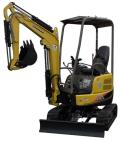 Rental store for BACKHOE, MINI-TRACK YANMAR, 12 in Tulsa OK