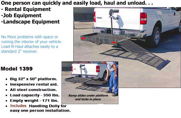 Where to find LOAD-N-HAUL HITCH PLATFORM in Tulsa