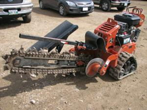 Where to rent TRENCHER, 16 hp DITCH WITCH TRACK in Tulsa OK, Sand Springs OK, Broken Arrow OK, Sapulpa OK