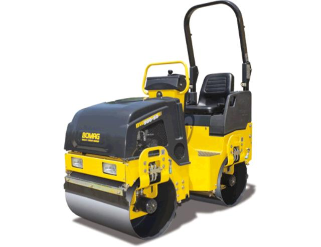 Where to find COMPACTOR,VIBRATORY ROLLER BOMAG YELLOW in Tulsa