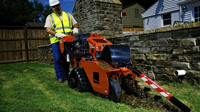 Trencher 16 Hp Ditch Witch Track Rentals Tulsa Ok Where