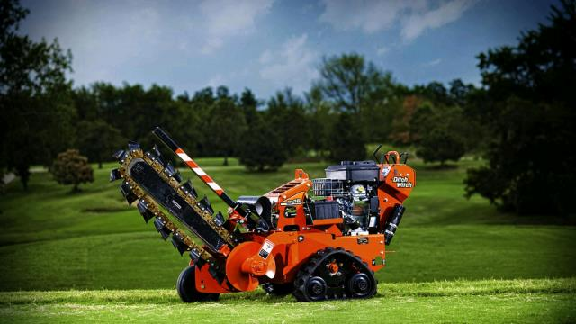 Where to find TRENCHER, 16 hp DITCH WITCH TRACK in Tulsa