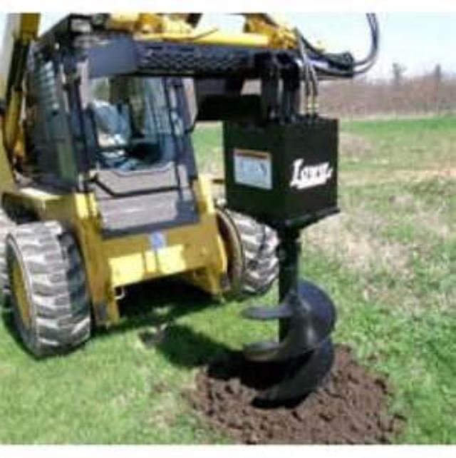 Where to find POST HOLE AUGER 4 SKID STEER LOADER in Tulsa